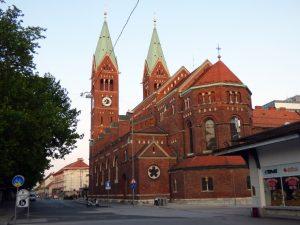 maribor marburgo slovenia basilica francescana santa maria rossa