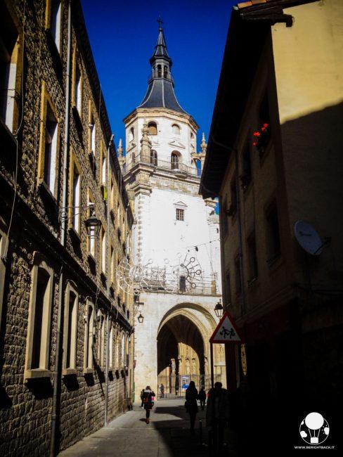 vitoria gasteiz capitale paesi baschi spagna vecchia cattedrale santa maria di vitoria