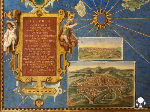 musei vaticani roma galleria carte geografiche toscana etruria fiorenza siena