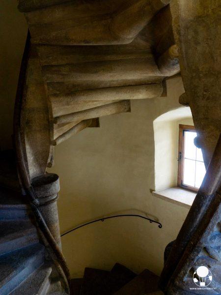 graz stiria austria burg scala gotica a doppia elica