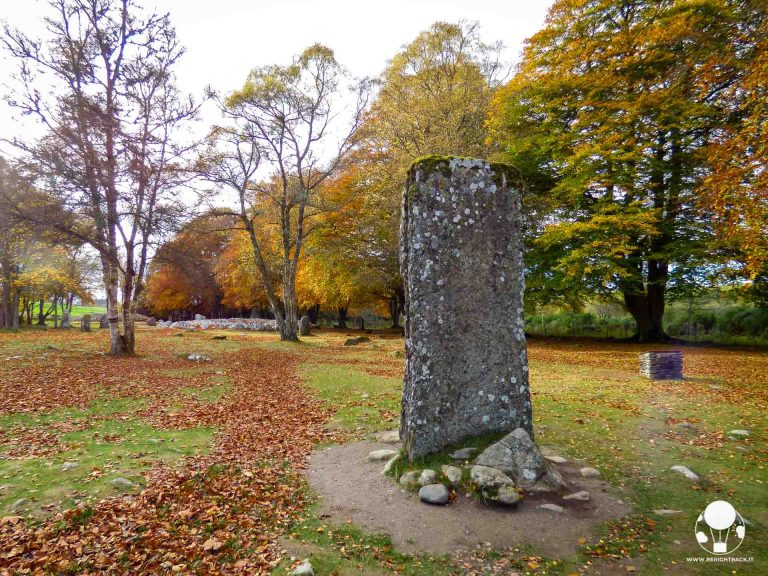 scozia itinerario autunnale clava cairns highlands inverness cerchio di pietre outlander