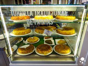 cosa mangiare siviglia centro tortillas tradicionales de patatas