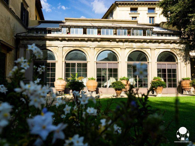 firenze palazzo pandolfini giardino all'inglese serra cortine interno eleonora nencini