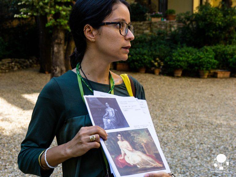 firenze palazzo pandolfini ritratto di eleonora nencini una delle grazie di foscolo