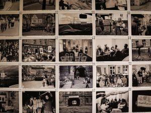 Rivoluzione di Velluto, serie di foto in bianco e nero di quei giorni
