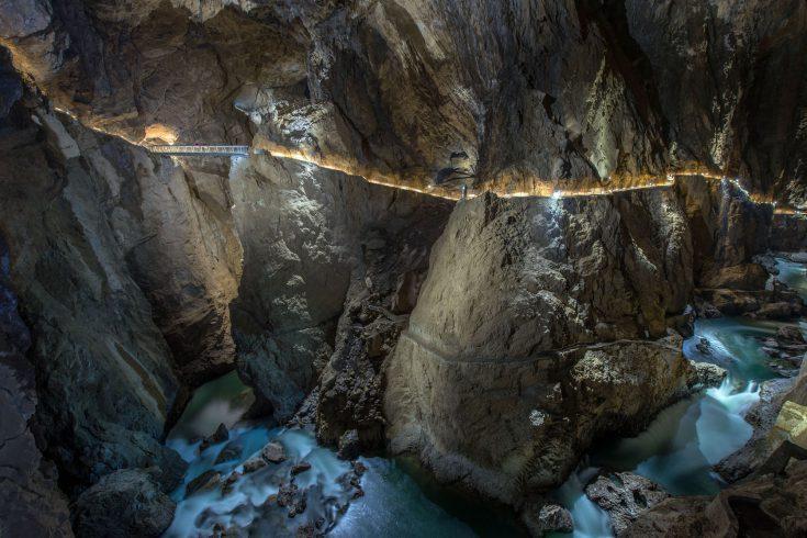 Tra i siti UNESCO della Slovenia ci sono le Grotte di San Canziano