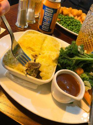 neeps tatties haggis pie piatto tradizionale scozzese
