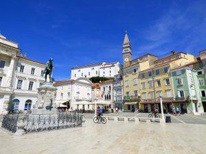 cosa vedere in istria slovenia pirano piazza tartini influenza venezia