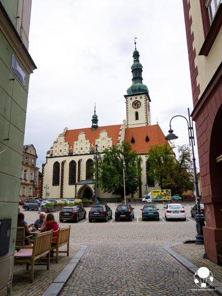tabor repubblica ceca boemia meridionale cosa vedere piazza zizka chiesa della trasfigurazione di gesù