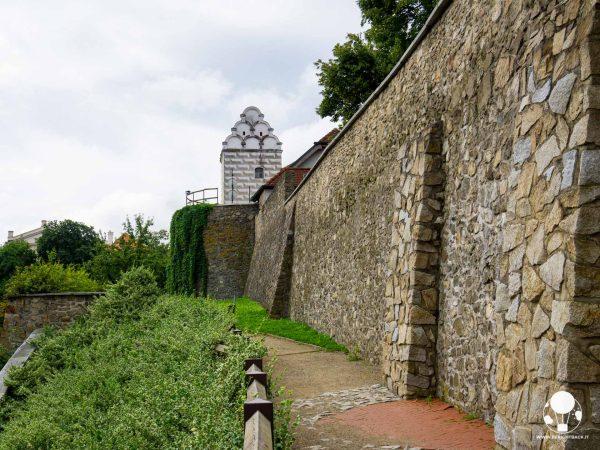 tabor repubblica ceca boemia meridionale cosa vedere mura medievali e torre dell'acqua