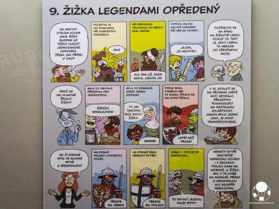 tabor repubblica ceca boemia meridionale cosa vedere museo hussita fumetto con storia jan zizka ed occhio
