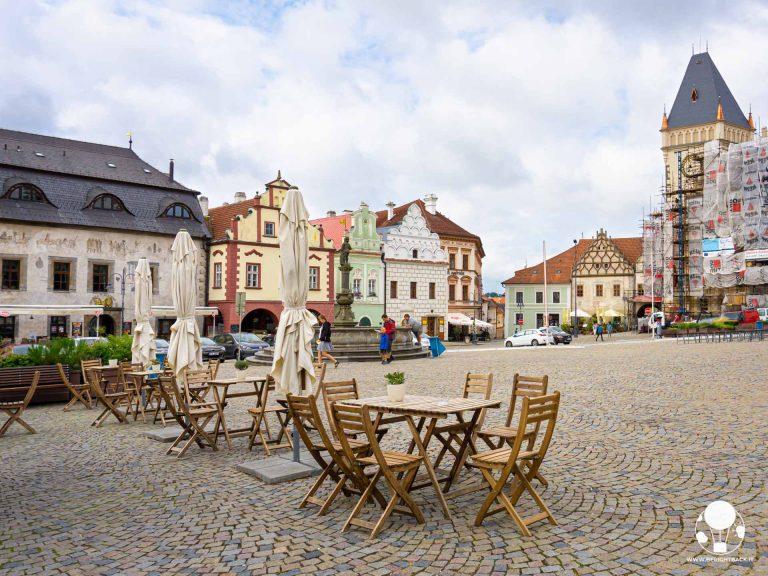 tabor repubblica ceca boemia meridionale cosa vedere piazza centrale zizka con municipio e case borghesi