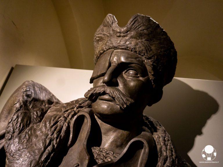 tabor repubblica ceca boemia meridionale cosa vedere museo hussiti statua in bronzo jan zizka senza occhio