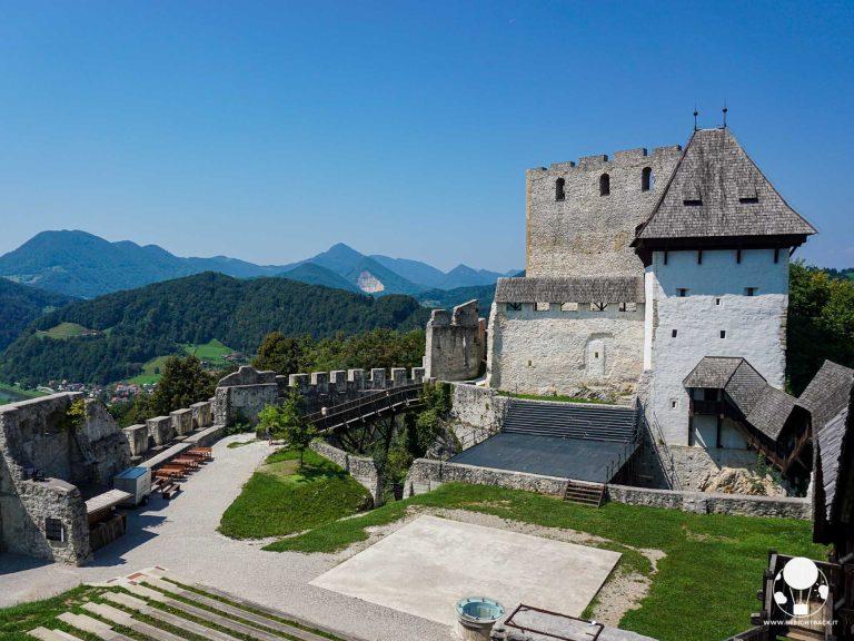 Il castello dei Conti di Celje è il più antico castello su tutto il territorio sloveno