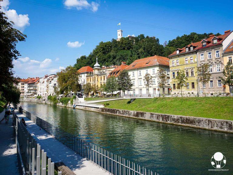 Lubiana è una città perfetta per passeggiare in tranquillità