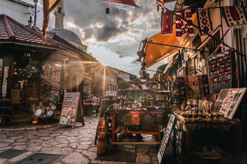 Sarajevo ed il suo mercato