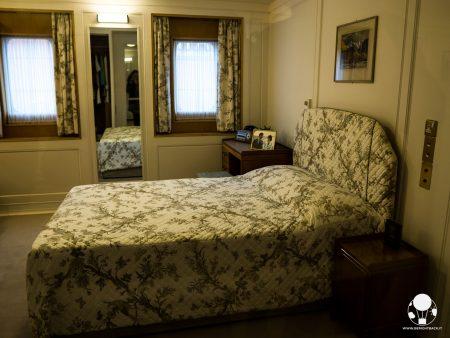 Il solo letto matrimoniale sulla Royal Yacht Britannia fu voluto da Carlo prima della luna di miele con Diana