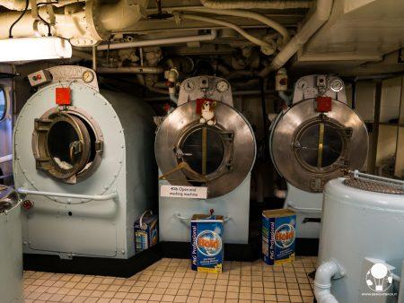 Le lavatrici della Royal Yacht Britannia erano in funzione 24 ore al giorno