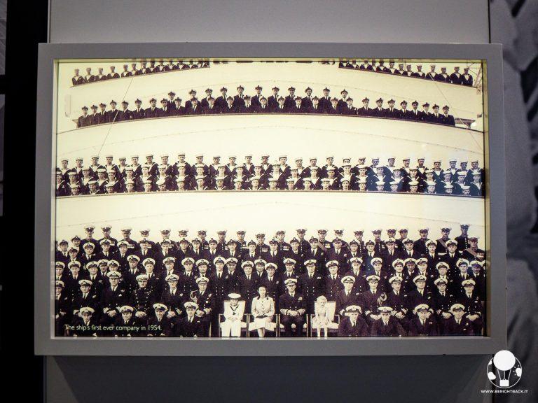 L'equipaggio a bordo della Royal Yacht Britannia era molto numeroso