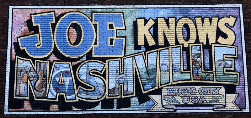 Nashville, Tennessee. Music city U.S.A.