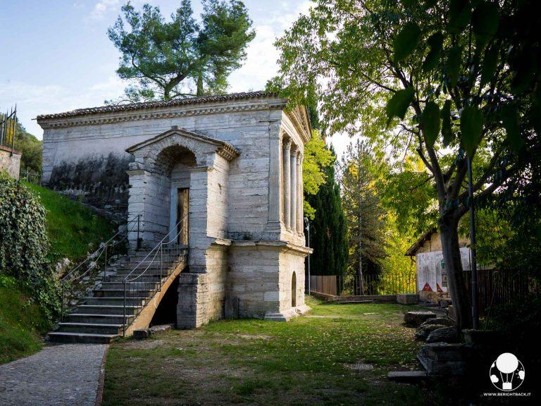 Campello sul Clitunno, il Tempietto longobardo patrimonio UNESCO ed il suo contesto naturale