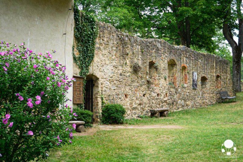 castello-zvikov-boemia-meridionale-cortile-con-mura-ingresso-bar-berightback