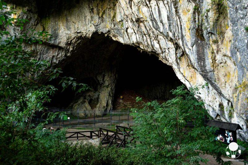 Grotta di Stopića, la bocca d'ingresso al complesso