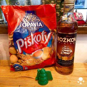 Ingredienti per dolcetti di Natale cechi