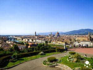 Centro storico di Firenze visto da Piazzale Michelangelo