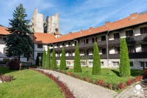 Le celle monastiche riservate alle suore all'interno del monastero di Resava, Serbia