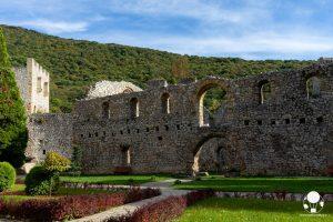 Resti del refrettorio nel monastero di Resava, Serbia