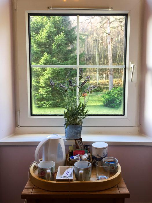 Ewich House Crianlarich finestra di camera