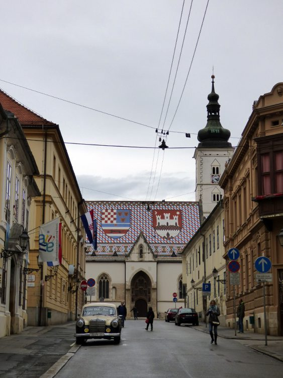 chiesa san marco zagabria croazia