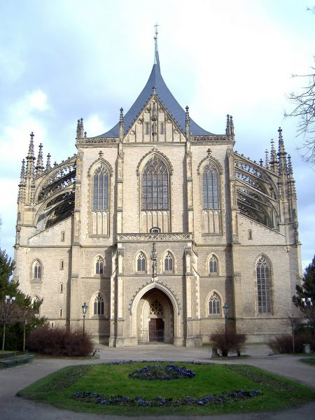 kutna hora cattedrale santa barbara repubblica ceca