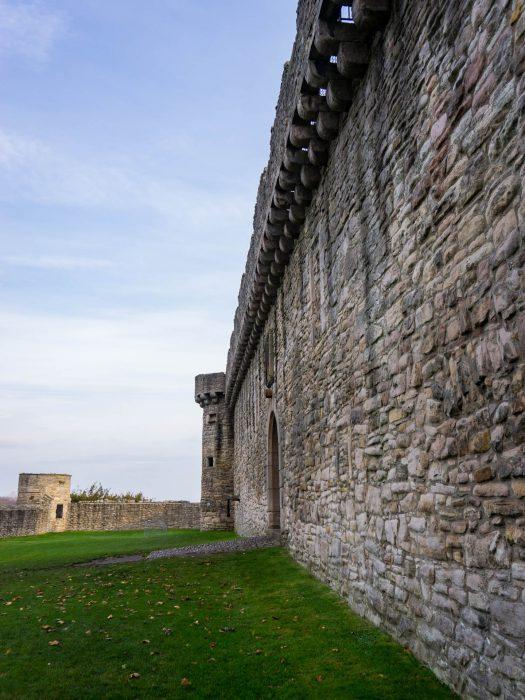 Edimburgo periferia Craigmillar Castle Ardsmuir Outlander