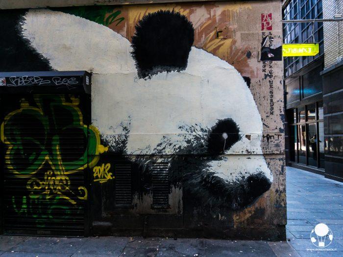 glasgow mural trail panda
