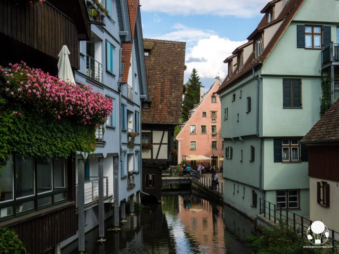 canali quartiere pescatori ulm fischerviertel