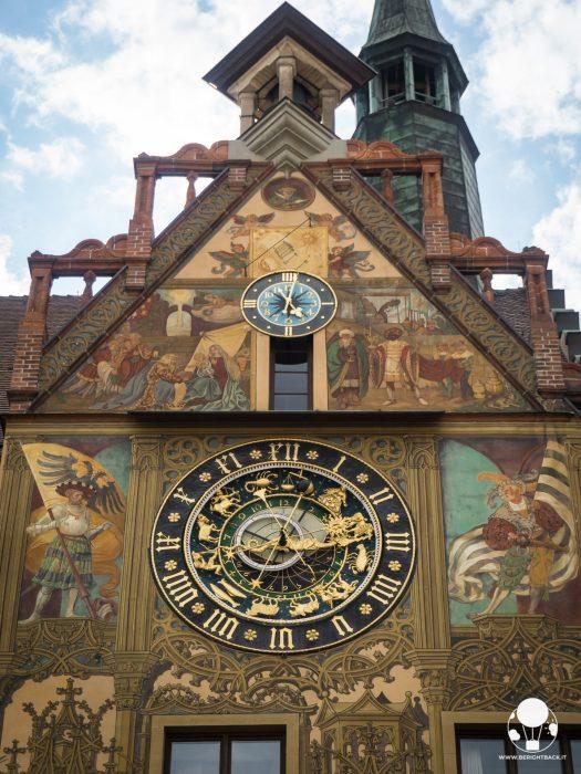 orologio astronomico municipio ulma germania
